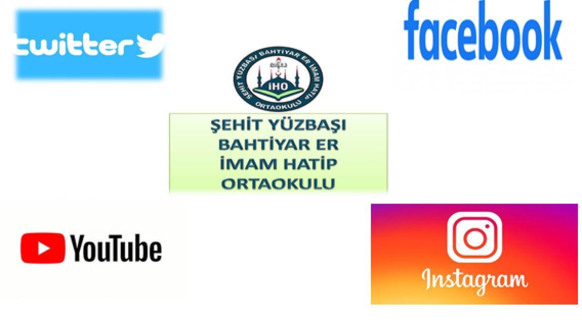 Okulumuzun Sosyal Medya Hesapları...