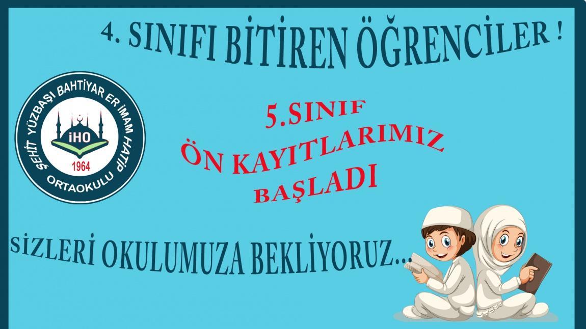 İNTERNET ÜZERİNDEN 5.SINIF ÖN KAYITLARIMIZ BAŞLADI !!!...